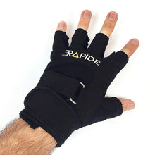 Black workout gloves