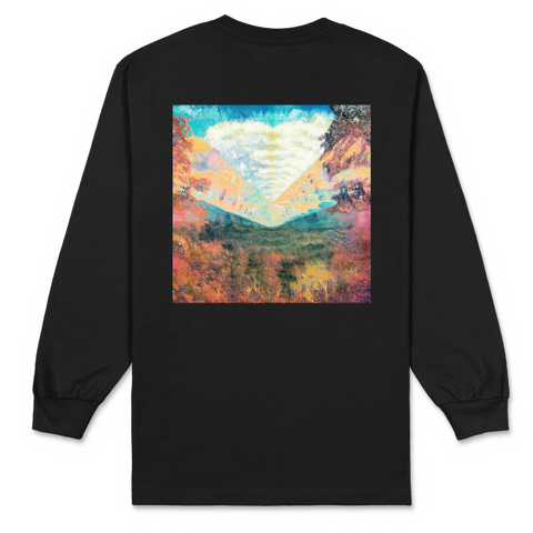Inner Long / Black Long Sleeve T-shirt