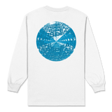 Inner Clouds / White Long Sleeve T-shirt