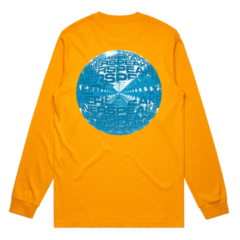 Inner Clouds / Yellow Long Sleeve T-shirt