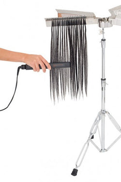 Complete Hair Extension Stand With 2 Racks