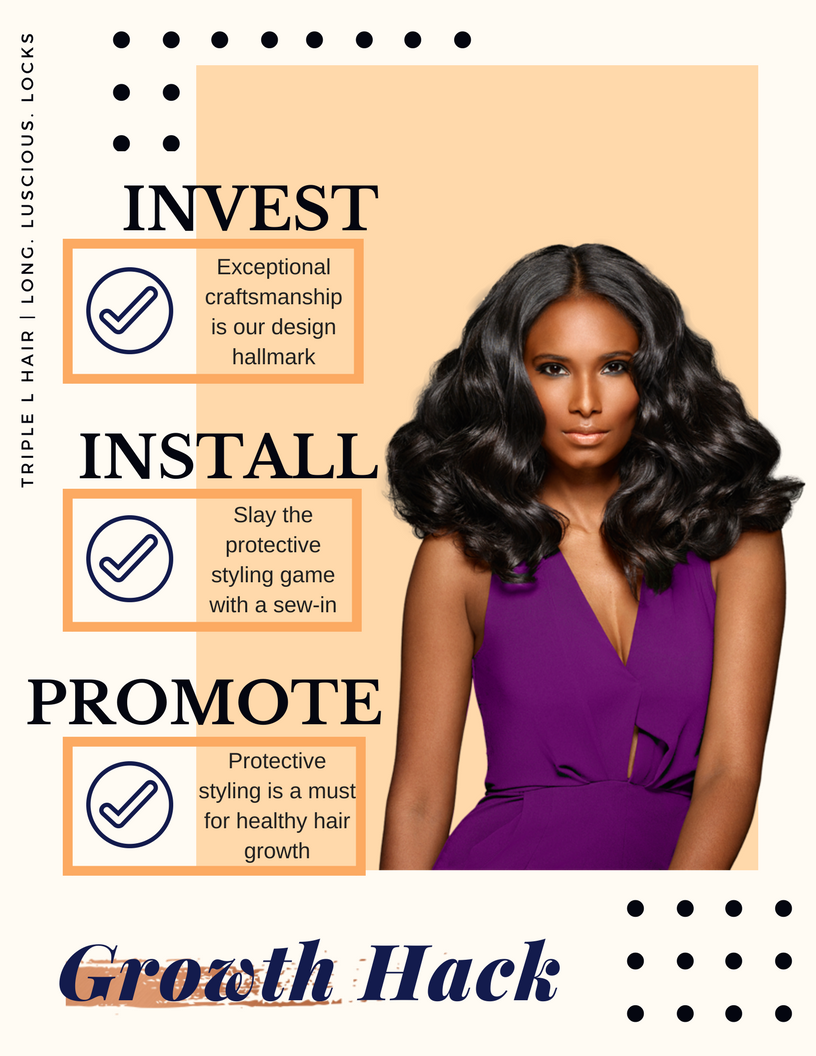 How to promote hair growth with Triple L Hair