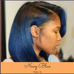 Navy hair color