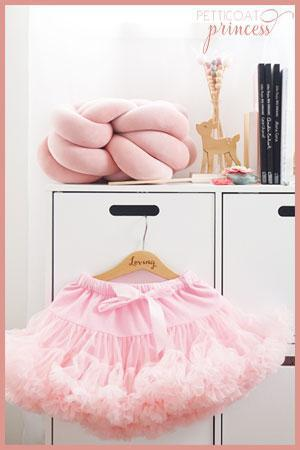 baby soft light pink petticoat tutu skirt