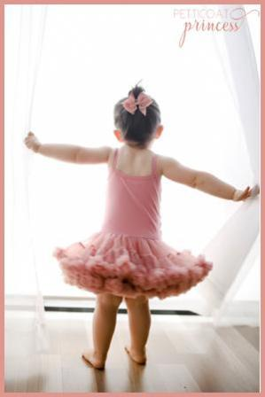 dusty rose rosette pettidress tutu dress