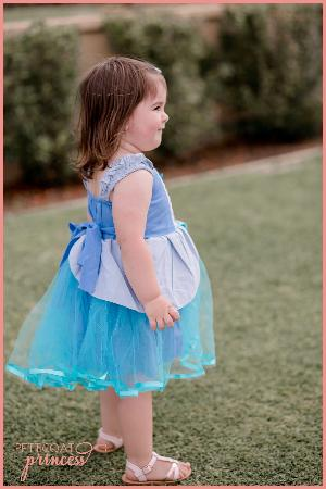 Blue Princess Tutu Dress