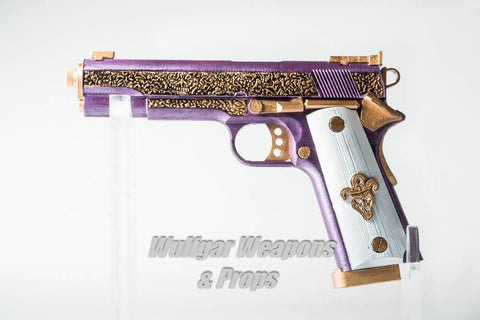 Joker M1911 (Suicide Squad) - Wulfgar Weapons & Props