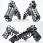 9mm Hand-cannon Pistol - Wulfgar Weapons & Props