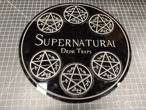 Supernatual Drink Trap Coaster Set - Wulfgar Weapons & Props
