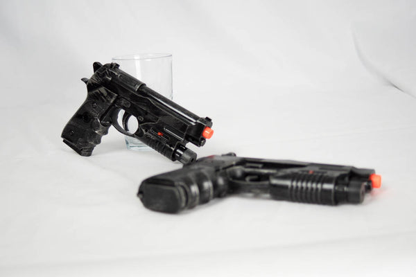 Dual Prop Pistols for Cosplay (Punisher, Deadpool, Winter Soldier)