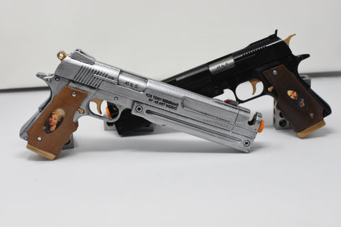 Ebony & Ivory Pistol Set - Wulfgar Weapons & Props