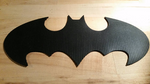 Batman Inspired Symbol: Rubber, Double Sided