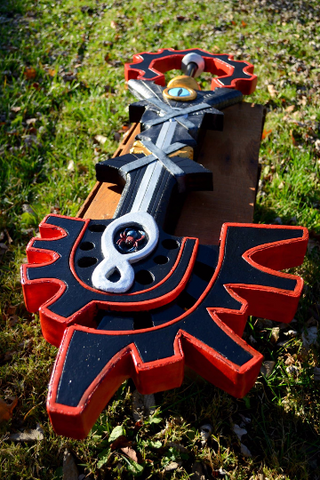 Keyblade Prop - Your Design - Made to Order - Wulfgar Weapons & Props