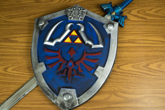 Master Sword and Hylian Sheild Combo