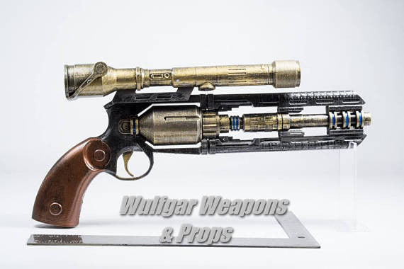 Smuggler's Heavy Blaster - Wulfgar Weapons & Props