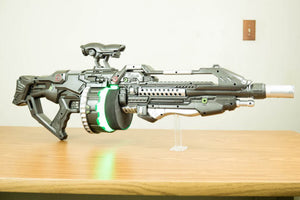 Light Up Sci-fi Rifle - Wulfgar Weapons & Props