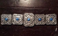 Handmade / painted decorative belt - Cirilla Fiona Elen Riannon, aka Ciri / Lion Cub of Cintra - Witcher 3. Video game cosplay costume prop.