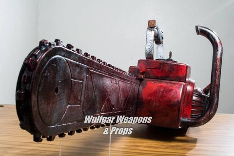 Ash Chainsaw Arm - Wulfgar Weapons & Props