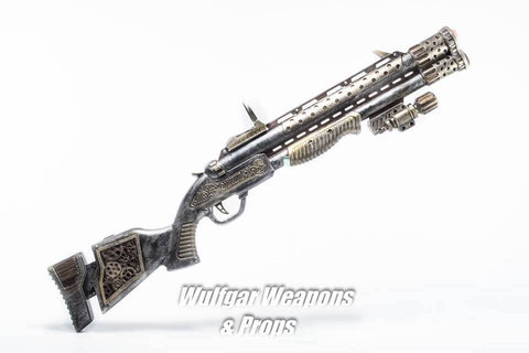 Steampunk Long Rifle Prop - Wulfgar Weapons & Props