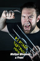 Wolverine style cosplay / costume claws - 1:1 scale Adult size, light weight, easy to use, convention safe.