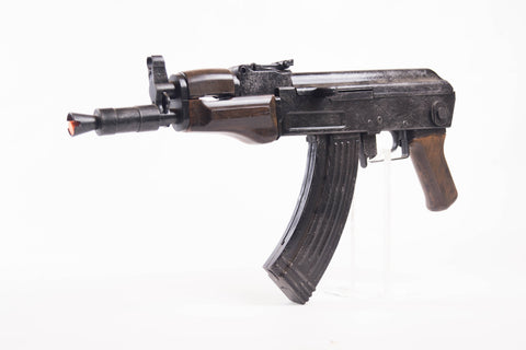 1 : 1 scale AK 74u prop gun - movie film - Wulfgar Weapons & Props