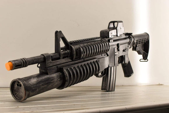 M4 with reflex sight and underbarrel grenade launcher - Wulfgar Weapons & Props