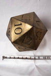 Giant D20 Die - Wulfgar Weapons & Props