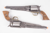 2x The Dark Tower Gunslinger Revolvers Pistol Set Gun Prop Costume Cosplay - Wulfgar Weapons & Props