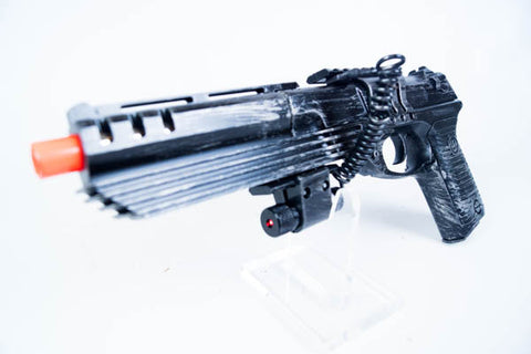 Laser Sighted Hand Cannon Pistol - Wulfgar Weapons & Props