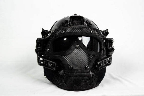 Tactical Helmet and Face Mask - Wulfgar Weapons & Props