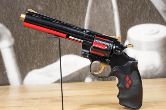 Harley Quinn Revolver Prop - Wulfgar Weapons & Props