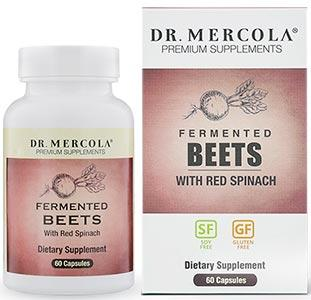 Dr. Mercola Fermented Beets with Red Spinach