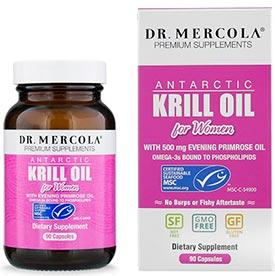 Dr. Mercola Krill Oil for Women with EPO