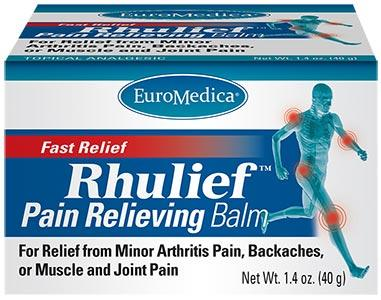 EuroMedica Rhulief Pain Relieving Balm