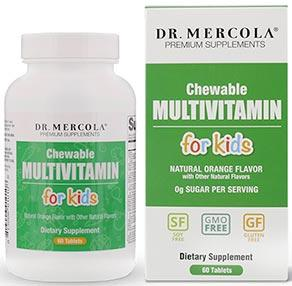 Dr. Mercola Chewable Multivitamin for Kids