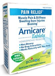 Boiron Homeopathics Arnicare Tablets