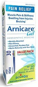 Boiron Homeopathics Arnicare Gel w/MDT Pack