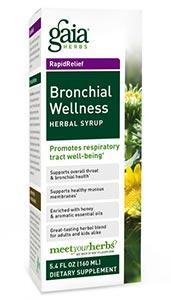Gaia Herbs Bronchial Wellness Herbal Syrup
