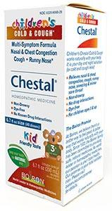 Boiron Homeopathics Chestal Children's Cold & Cough