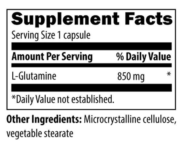Designs for Health L-Glutamine 850mg