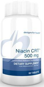 Designs for Health Niacin CRT 500mg