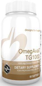 Designs for Health OmegAvail TG1000