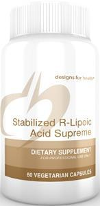 Designs for Health Stabilized R-Lipoic Acid Supreme