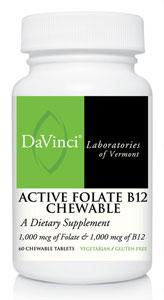 DaVinci Labs Active Folate B12 Chewable