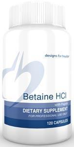 Designs for Health Betaine HCl with Pepsin