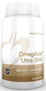 Designs for Health OmegAvail Ultra DHA