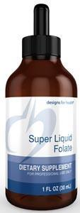 Designs for Health Super Liquid Folate