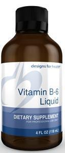 Designs for Health Vitamin B-6 Liquid