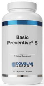 Douglas Laboratories Basic Preventive 5 Vegetarian