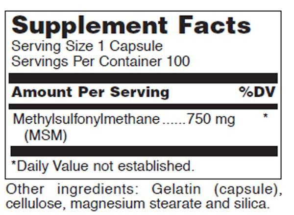 Douglas Laboratories MSM Capsules